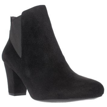 BCBGeneration Dolan Heeled Chelsea Ankle Boots, Black, 10 US / 40 EU