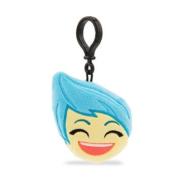 Disney Joy Emoji Plush Backpack Clip Inside Out New with Tags