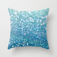 Lagoon Throw Pillow by Lisa Argyropoulos