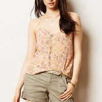Silk Racerback Cami by Eloise Red Motif