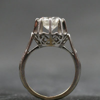 French White Gold Claw Set 1.75ct Solitaire Diamond Ring by Ruby Gray's | Ruby Gray's Antique & Vintage Rings
