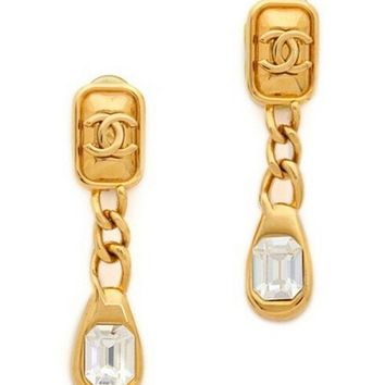 Beautiful Designer Gold Plated Dangle Earrings