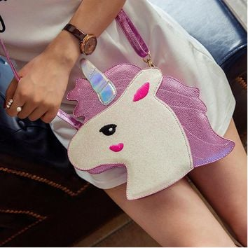 Unicorn Clutch Handbag