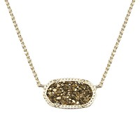 Elisa Pendant Necklace in Bronze Drusy - Kendra Scott Jewelry