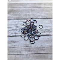 nose ring, niobium tragus ring, hoop ring, tiny small black, helix earring, real piercing 4mm 5mm 6mm 8mm 10mm 12mm thin sizes 22g 20g 18g