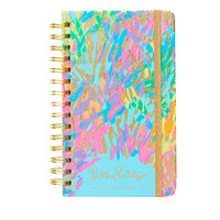 Lilly Pulitzer 2017-2018 MEDIUM AGENDA - SPARKLING SANDS