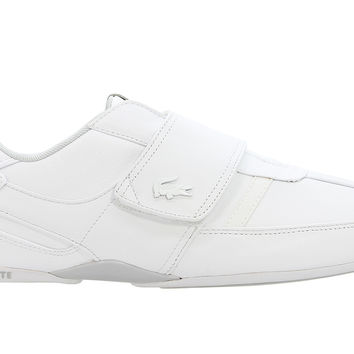 Lacoste Protected Leather Trainer - White