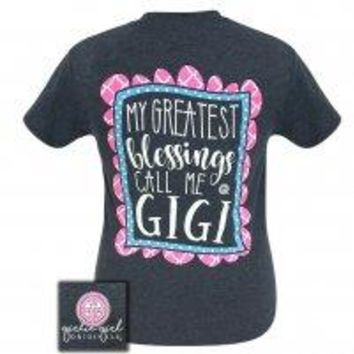 "Girlie Girl ""Blessings GiGi"" Short Sleeve Tee"
