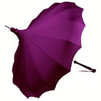 Bella Umbrella Pagoda - Purple Rain Umbrellas from Seattle