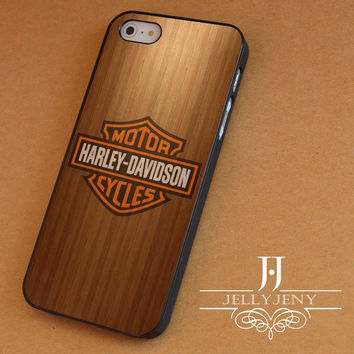 Harley davidson wood iPhone 4 Case 5 Case 5c Case 6 Plus Case, Samsung Galaxy S3 S4 S5 Note 3 4 Case, iPod 4 5 Case, HtC One M7 M8 and Nexus Case