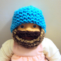 Beard Hat Baby Beanie Baby Hat Knit Hat Beanie New Born Baby Toddler Clothing Accessories Gift Ideas Under 50 Photography Prop 0-18 Months