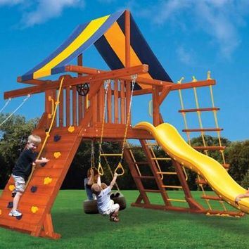Playground One Original Playcenter Double Swing Arm