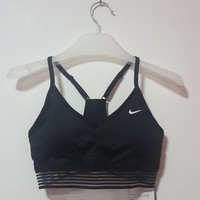 Nike Pro Mesh Panel Strappy Sports Bra