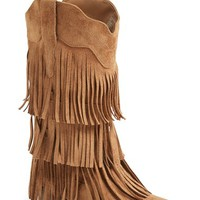 Women's Matisse 'Saloon' Fringe Tall Boot,