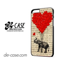 Elephant And Heart Shaped Ballons DEAL-3859 Apple Phonecase Cover For Iphone 6/ 6S Plus