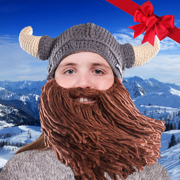 Kids Horned Viking Beard Hat - SALE 4d064e27bc7
