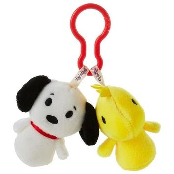 Peanuts® Snoopy and Woodstock itty bittys® Clippys Stuffed Animals
