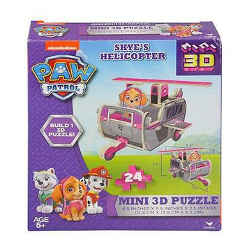 Paw Patrol Sky's Helicopter Mini 3D Puzzle