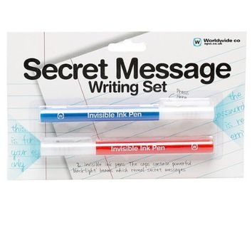 NPW Secret Message Pens Writing Set Novelty