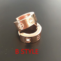 Cartier: Fashion retro reticulate flash drill earrings female rose gold titanium steel earrings anti-allergic gifts