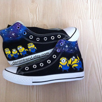 Galaxy Minion Shoes - Converse