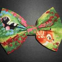bambi bow by spaceisinfinite on Etsy