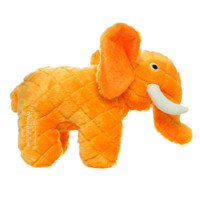 Safari Elephant Dog Toy - Orange