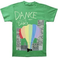 Dance Gavin Dance Men's Color Bomb T-shirt X-Large Green