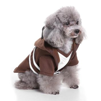 Star war halloween Jedi Knight dog cat costume outfits clothes winter warm dog pet jacket coat small dog hoodie clothing for pet