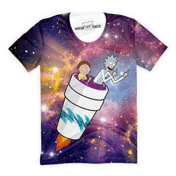 Rick and Morty Take Off T-Shirt