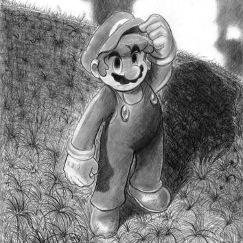 Original Mario Drawing