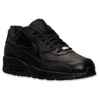 Mens Air Max 90 Leather Running Shoe