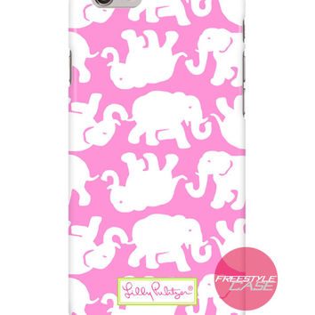 Lilly Pulitzer Tusk in Sun Pink iPhone Samsung Case Series