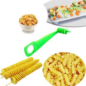 Creative Fruit  And Vegetable Spiral Slicer Kitchen Cutting And Carrot/Cucumber/Pumpkin/Zucchini Pattern Carved Flowers  E2S