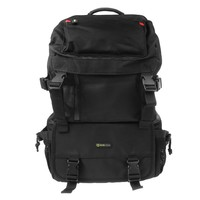 Camera Backpack - Evecase Digital SLR Camera Water Resistant MultiPurpose Daypack - Black