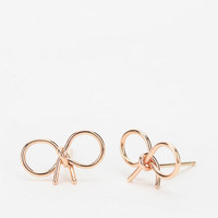 Urban Outfitters - Bare Collection Knotted Bow Earring