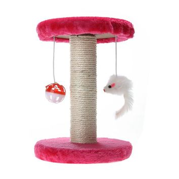 Cat Toy Swinging the Ball