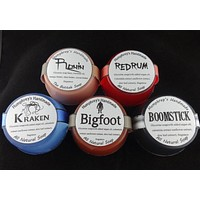 5 Men's Sample Soaps | Handmade Glycerin Soap Sampler