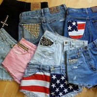 SURPRISE SHORTS hipster tumblr grunge by OpenYourEyesClothing