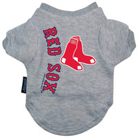 Hunter MFG Boston Red Sox Dog Tee, Large