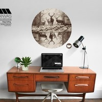 Stag Calling - Surface Collective | Premium Wall Graphics
