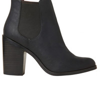 Lipstik Shoes - Jada Boot - Black