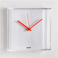 Kartell Tic&Tac Wall Clock - Style # 19x0-xx, Modern Clocks, Contemporary Clocks at SWITCHmodern.com