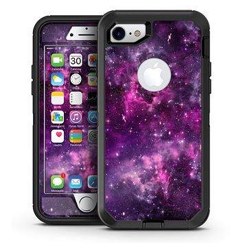 Vibrant Purple Deep Space - iPhone 7 or 7 Plus OtterBox Defender Case Skin Decal Kit