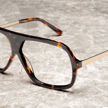 9FIVE Crowns Tortoise Clear Rx