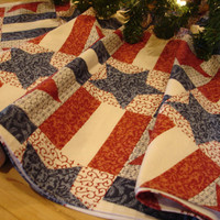 Americana Christmas Tree Skirt, Country from KaysGeneralStore on