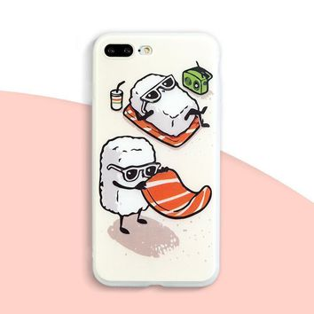 Kawaii Sushi Phone Case