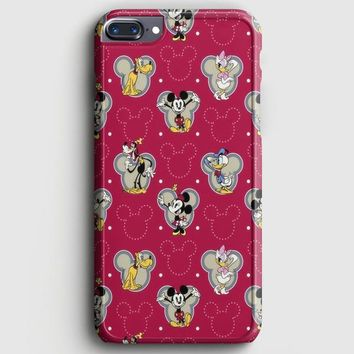 Swag Hipster Mickey iPhone 7 Plus Case
