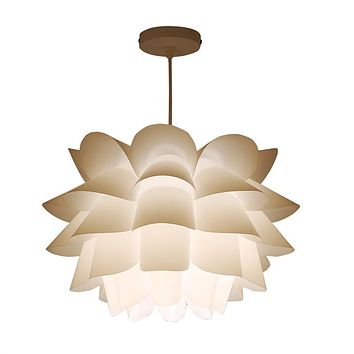 Self Assembly Lotus Ceiling Pendant