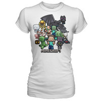 J!NX : Minecraft Party Women's Tee